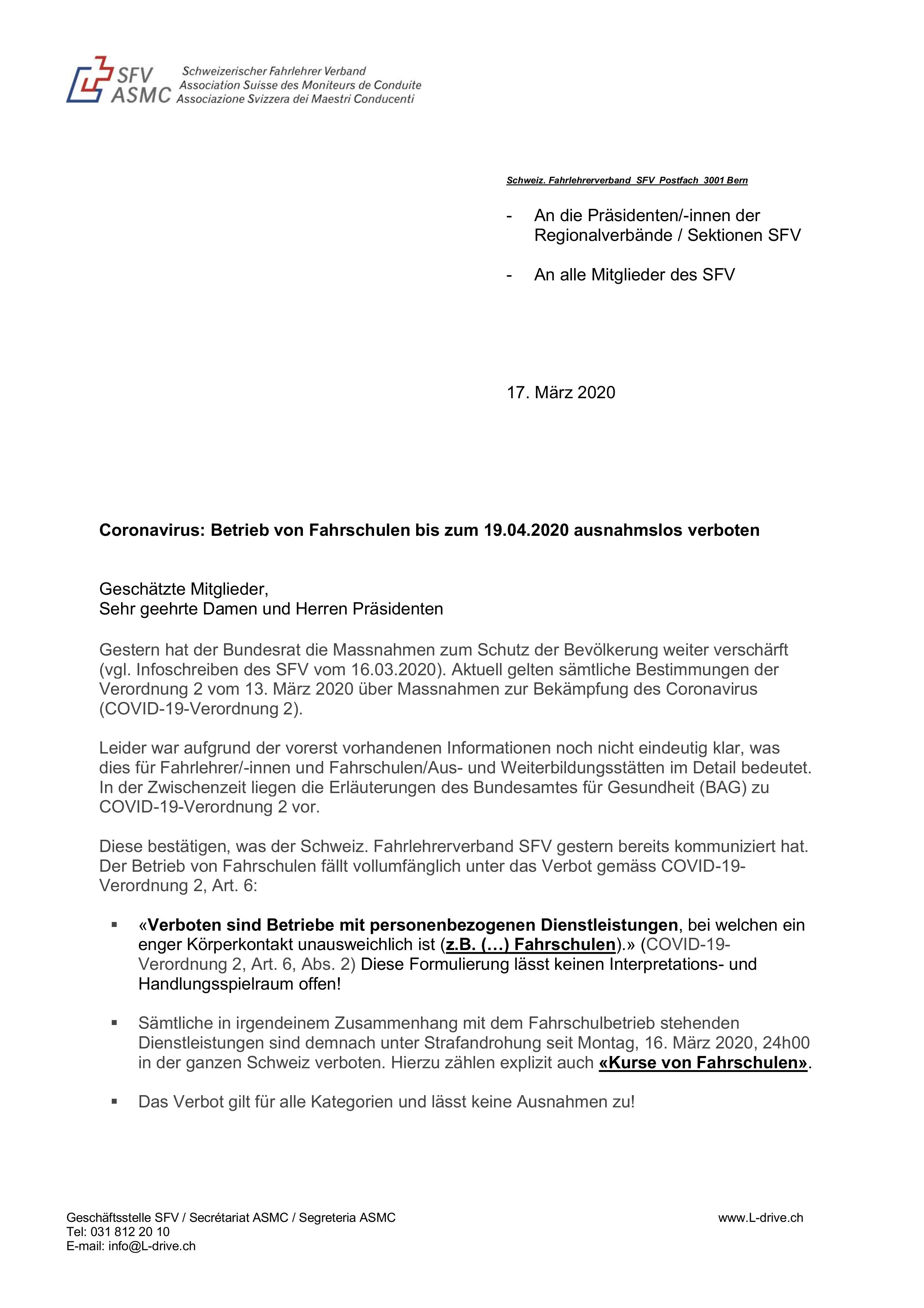 Fahrschule Ackle, Frick, 200317-IN-Corona_Fahrschulen-d (003)